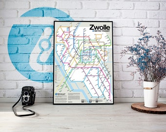 Zwolle Metro Transit Map
