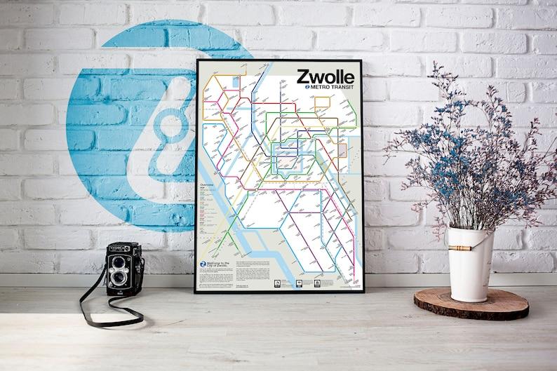 Zwolle Metro Transit Map image 0