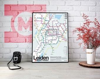 Leiden Metro Transit Map