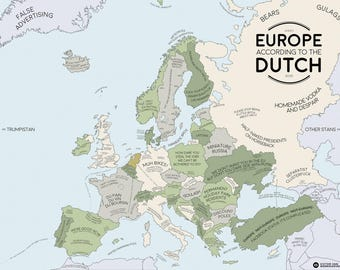 Europe Accor Ding to the Dutch: a continent in stereotypes