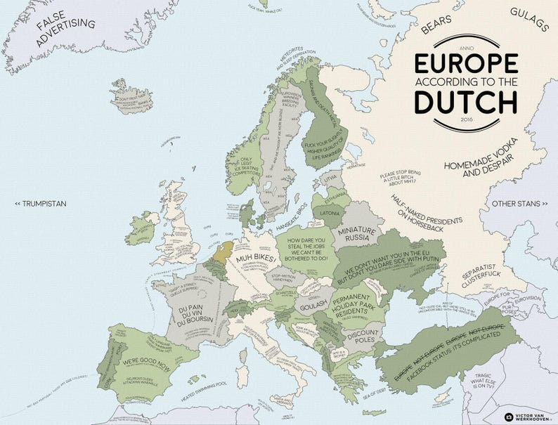 Europe Accor Ding to the Dutch: a continent in stereotypes image 0