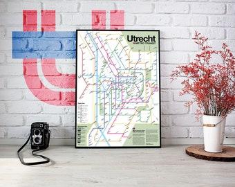 Utrecht Metro Transit Map