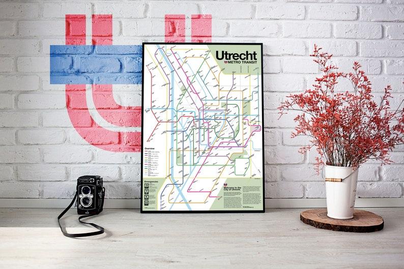 Utrecht Metro Transit Map image 0