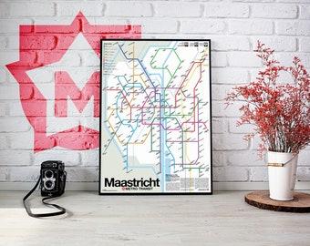 Maastricht Metro Transit Map