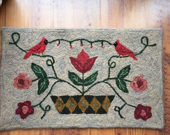 """Rug Hooking Pattern """"Trudy's Choice"""""""