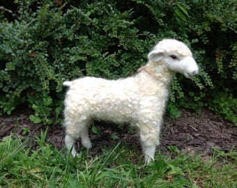 "Needle Felted Sheep ""Maggie-Mae"""