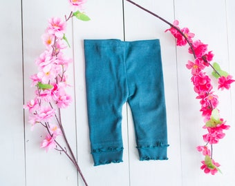 Green Newborn trousers/pants photography prop, RTS