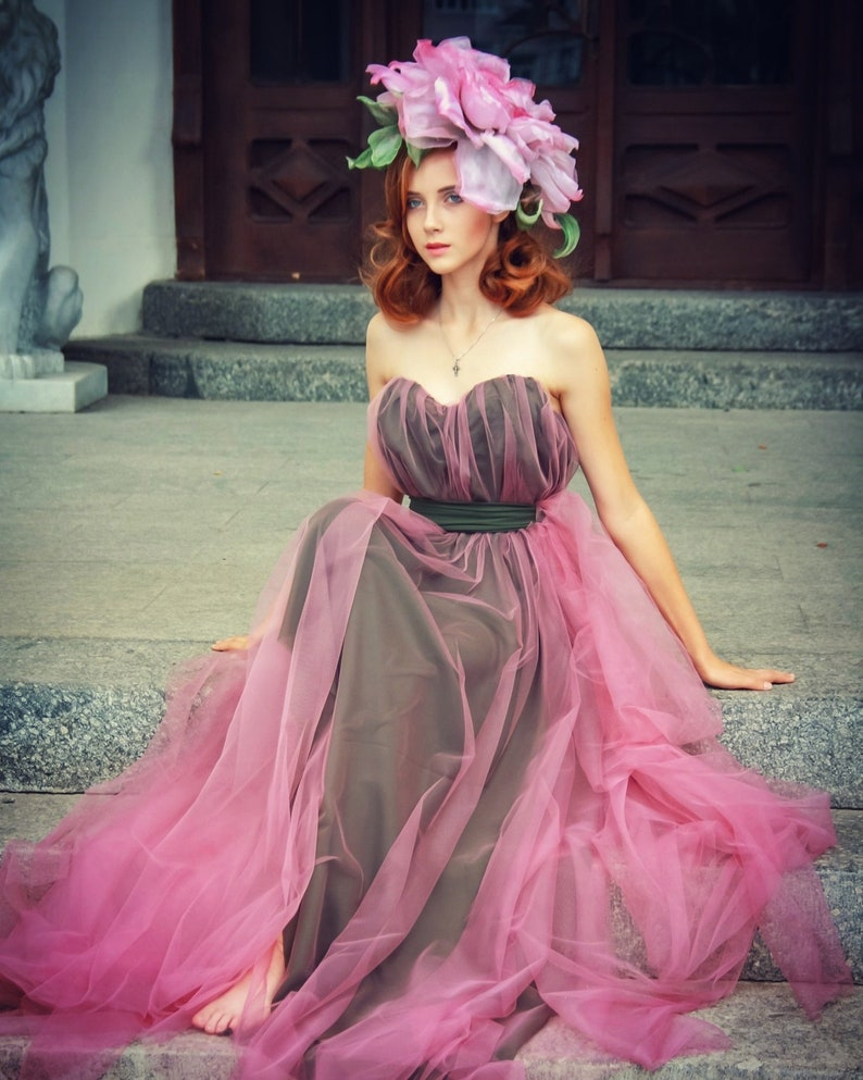 24d9f480bfb Hat Big rose pink wedding dress 2019 designer hat rose silk