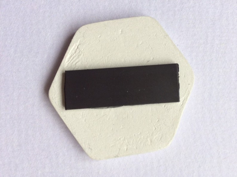 Clay fridge magnet