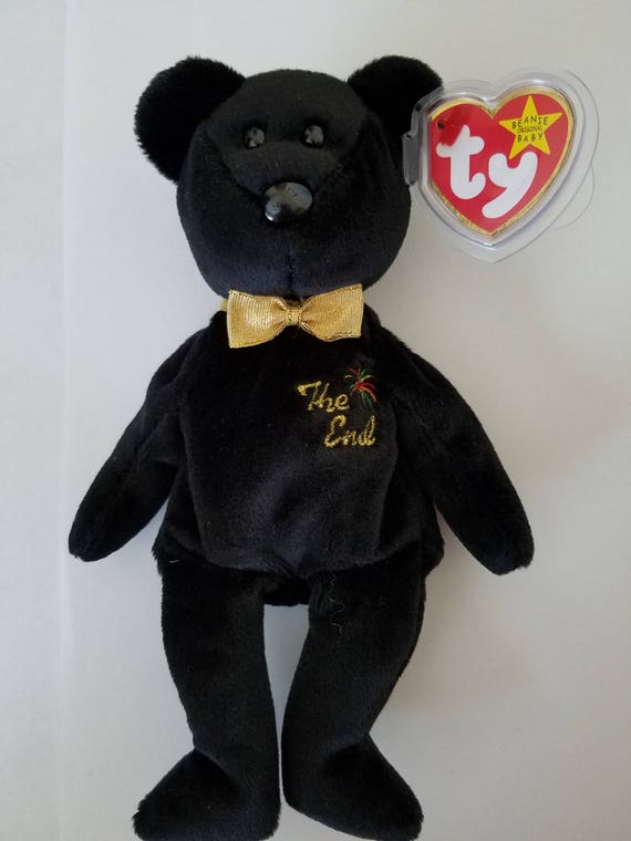 dc3030119cd Ty Beanie Baby THE END