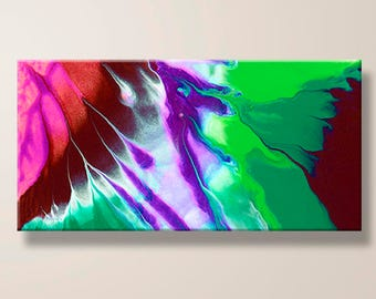 Abstract Art, Painting, Modern, Contemporary, Vibrant Colors, Giclee Print, Large Canvas, Art Print, Home Decor, Gift for Him, Office Gift