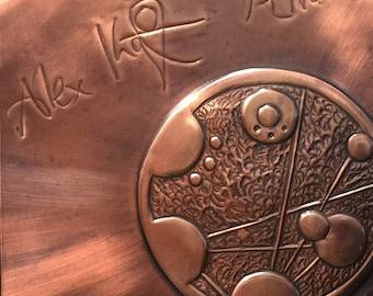 Gallifreyan Phase signed by Alex Kingston