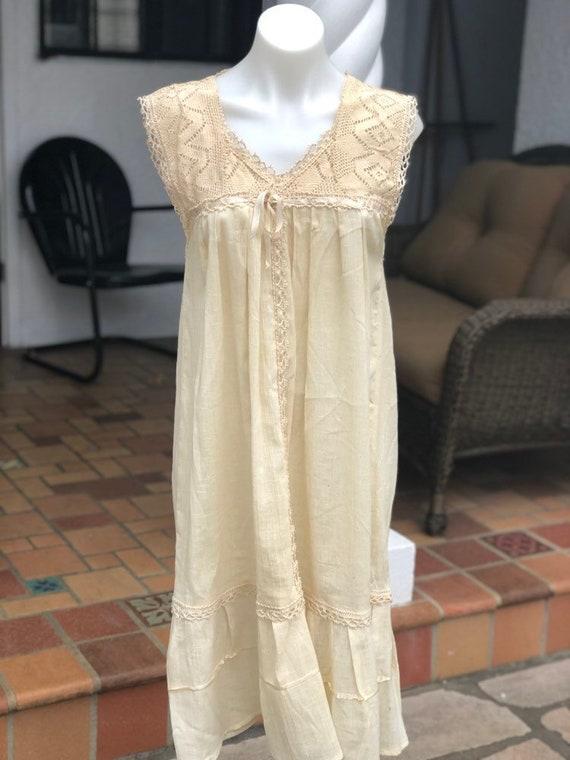 Vintage handmade boho dress
