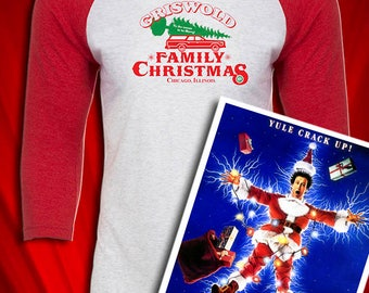 Griswold Family Christmas Vintage JERSEY Christmas Humor FREE SHIPPING 6201899ae