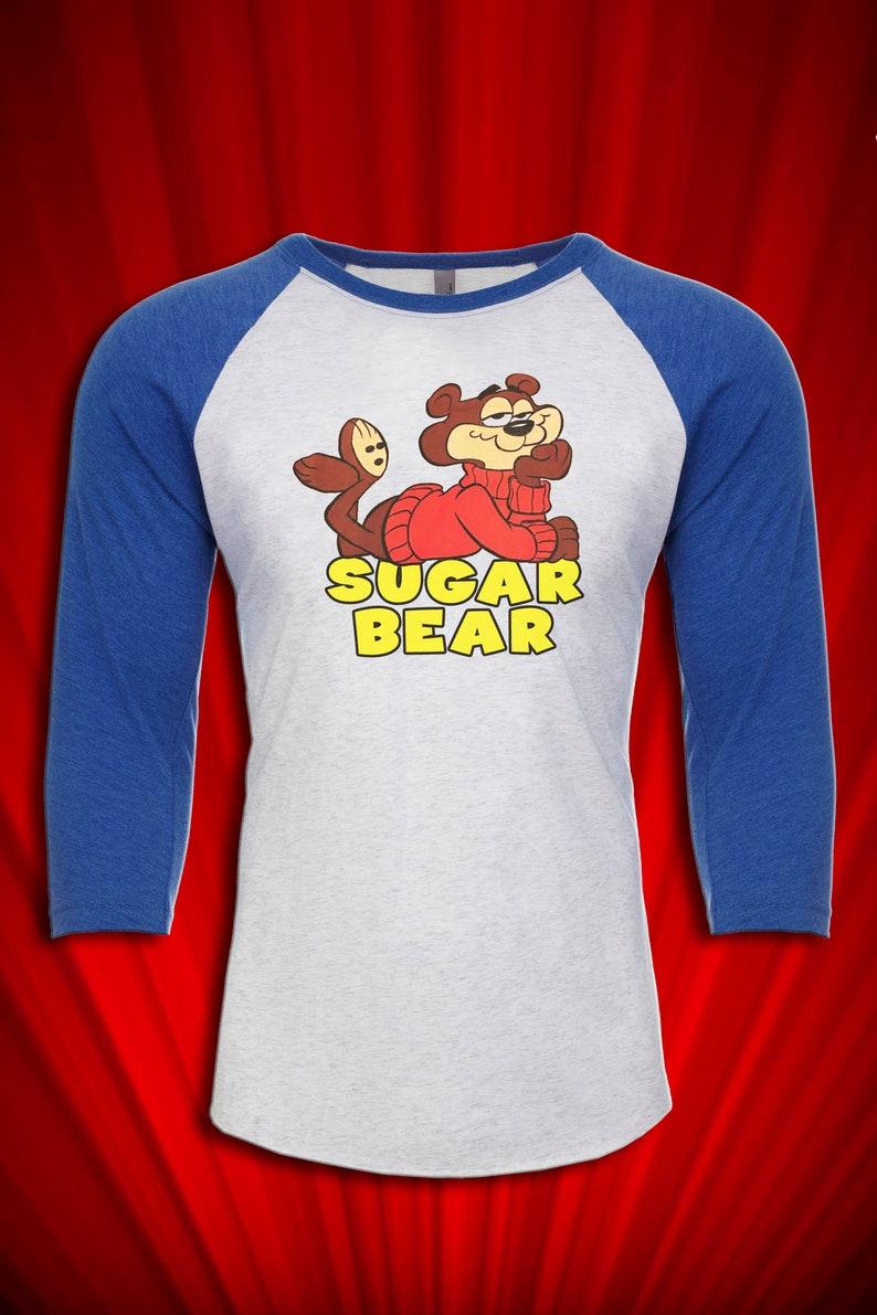 dec4ff023990c Sugar Bear Vintage 70's Tee T-SHIRT FREE ship USA Saturday Morning Cartoons