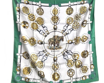a99bcc0a Vintage HERMES Carres silk scarf