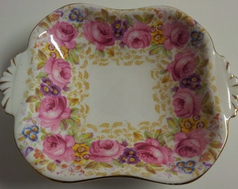 Royal Albert SERENA Square Handeled Dish