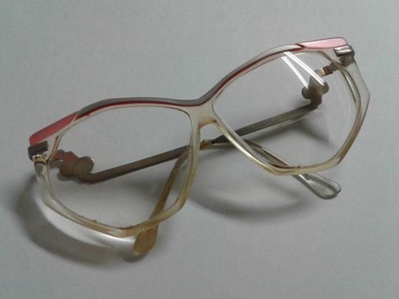 Vintage 70s Hakim Oversized Eyeglasses