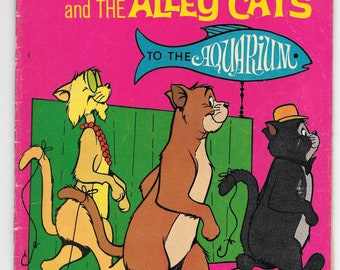 1972 O'malley And The Alley Cats #3 Gold Key Comics FREE BAG/BOARD