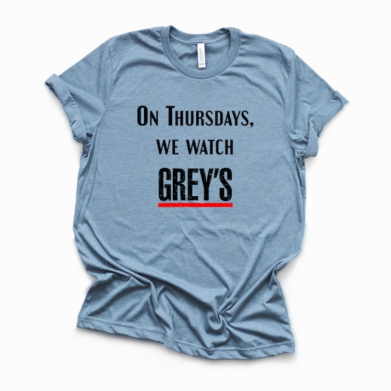 On Thursdays WE WATCH GREY\'S-Merideth Grey-Grey Anatomy | Etsy