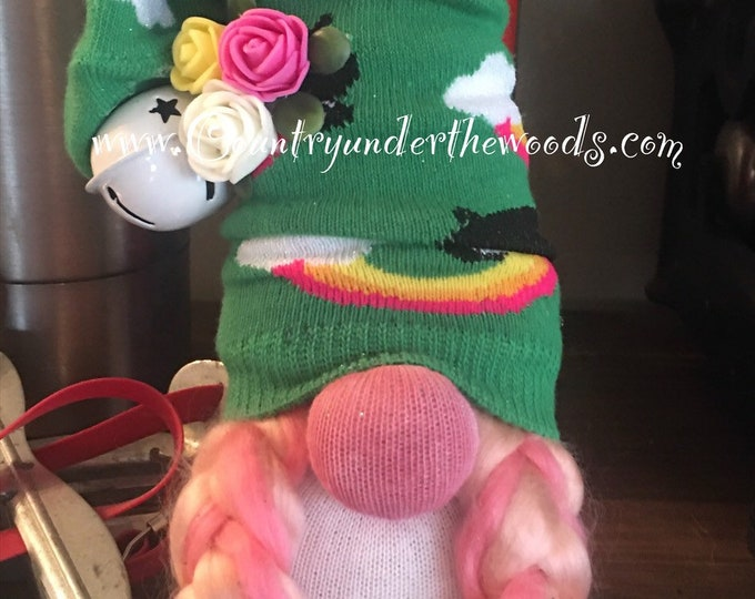Miniature Gnomes, Handmade, Girl Gnomes, Boy Gnomes, Farm decor, Country Decor, Sock Gnomes, Unique Gift