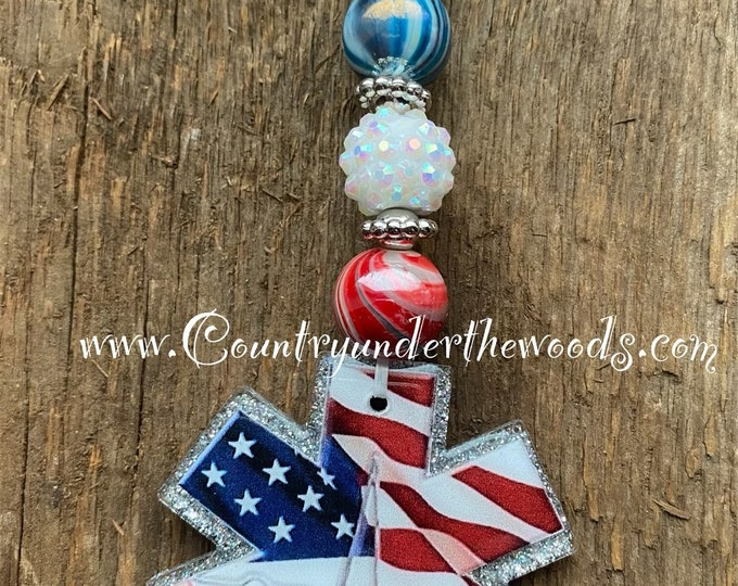 Beaded Key Chains, Custom Made, Key Chains ,Great Gift, Handmade ,Unique gift, Bubblegum beads, Acrylic, Free Shipping, Zindee Acrylic