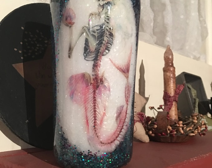 20oz Ozark Trail Tumbler/Mermaid Tumbler/Personalization/Custom/Glitter/6 sizes to pick from/Unique/