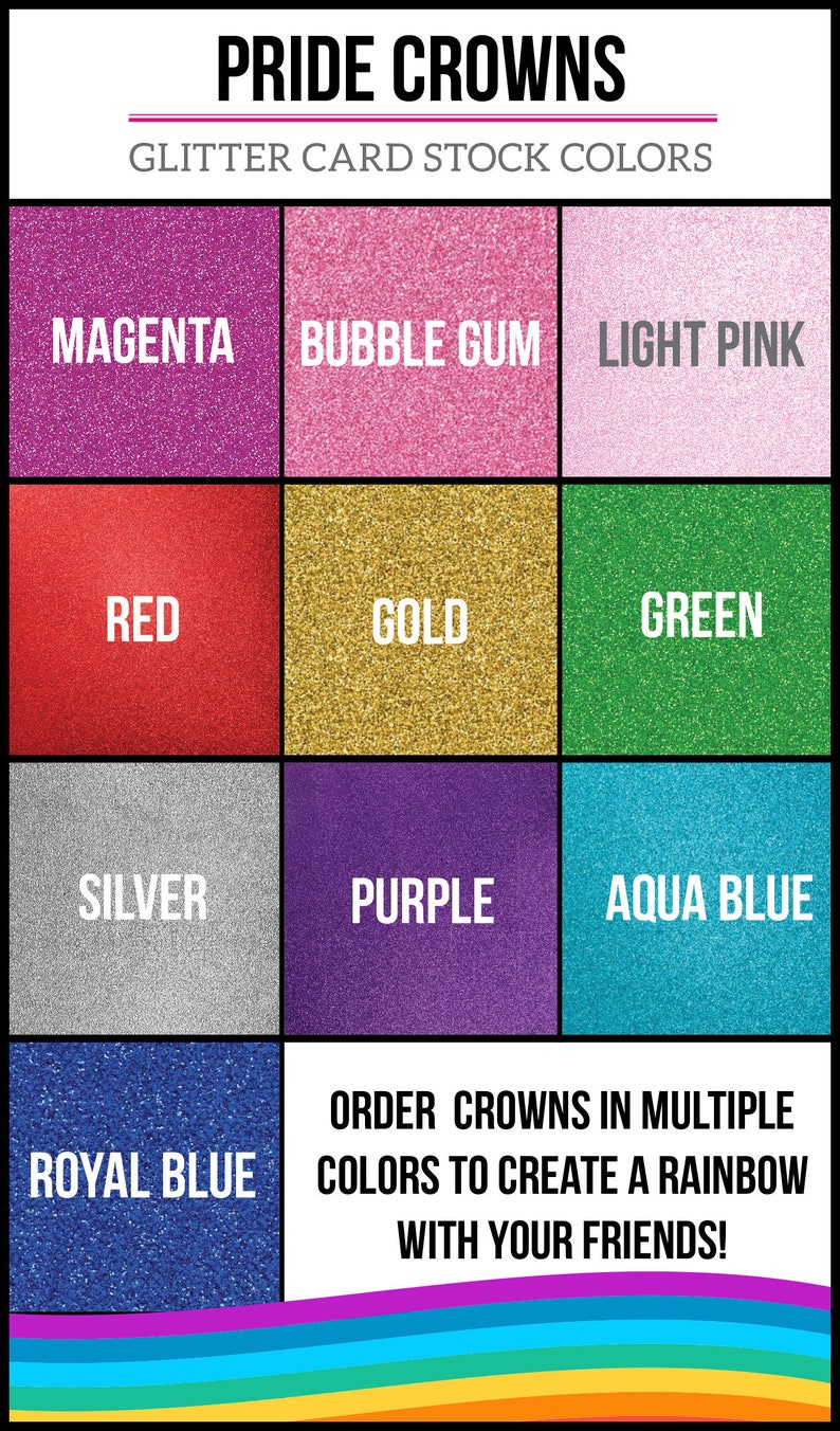 Gay Pride Parade -LGBT Ally Party Hat Equal Rights Pride Festival Party Crown- Love Wins Feminist Rainbow- Feminism