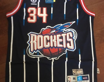 "Retro Hakeem "" The Dream "" Olajuwon Men Medium Jersey 09a3a5bd4"