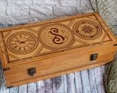 Personalized Handmade Men 39 s Wooden Box-Organizer