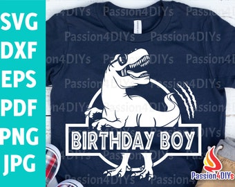 dinosaur birthday svg