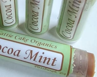 Cocoa Mint Handmade Lip Balm