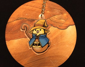 Great Black Mage FFXIV-Inspired Charm