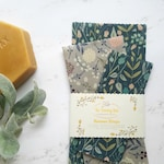 Beeswax Wrap Starter Pack - Reusable Eco Wrap - Eco Friendly Gifts - Organic Wax Wraps