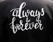 Always and Forever Hand Painted Jacket
