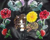 Custom Hand Painted Jacket