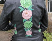 Hand Painted Leather Jacket