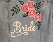 Bride Hand Painted Jacket
