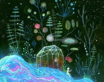 Cosmic Retreat Print