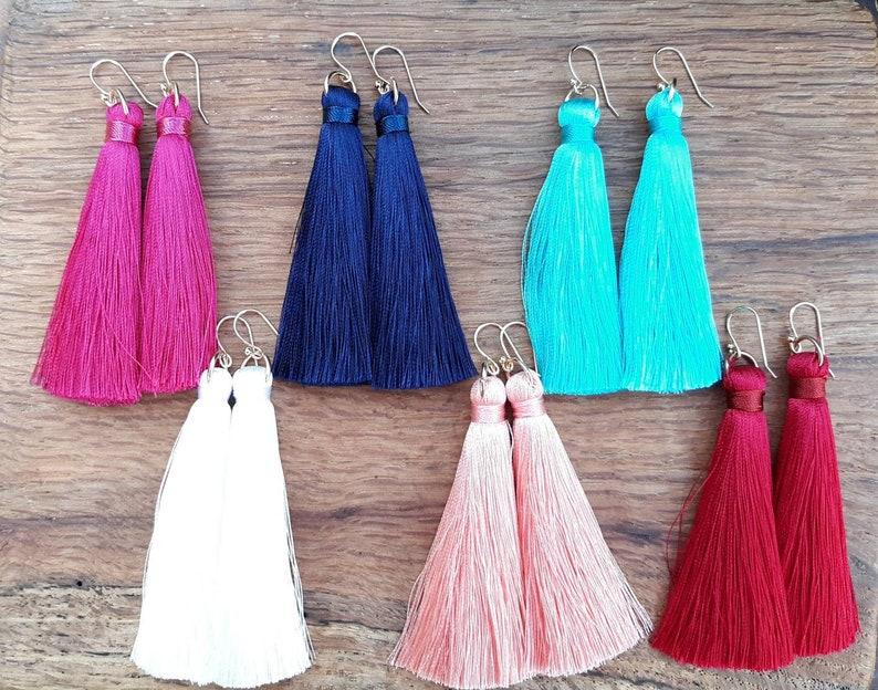 Tassel Earrings Earrings Bridesmaid Gift Gift Idea  Gift For Her CLEARANCE!!
