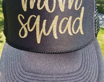 Mom Squad Trucker Hat df57f13ff09c