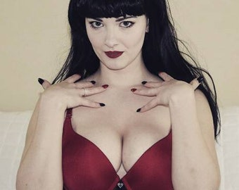 Bettie Page Print 1