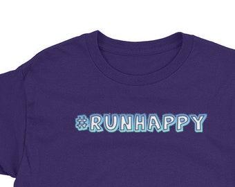 Run Happy Youth Short Sleeve T-Shirt