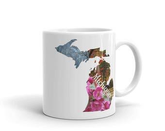 Michigan Seasons Mug