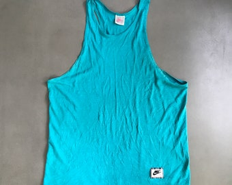 33206e589b40 Vintage Nike Tank top 1980s Made in USA size Large