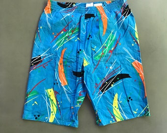 f9bb4f82e1d Vintage 80s Swim Shorts size Medium