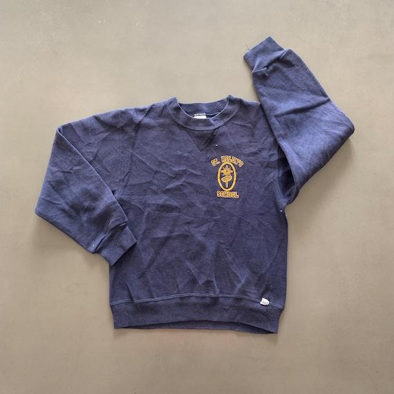 Vintage 1990s School Sweatshirt size Youth Medium