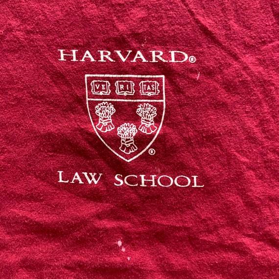 Vintage 1990s Harvard Law T-shirt size Large - image 2