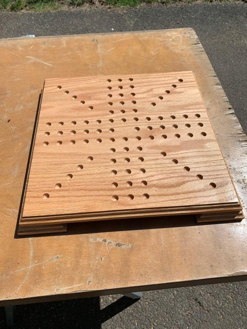Hardwood Aggravation Board