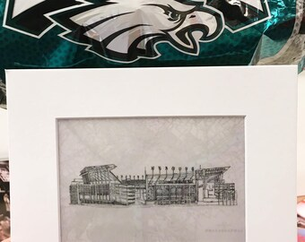 Eagles Limited Edition Lincoln Financial Field Print